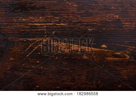 Darck brown wooden background natural wooden texture horizontal photo