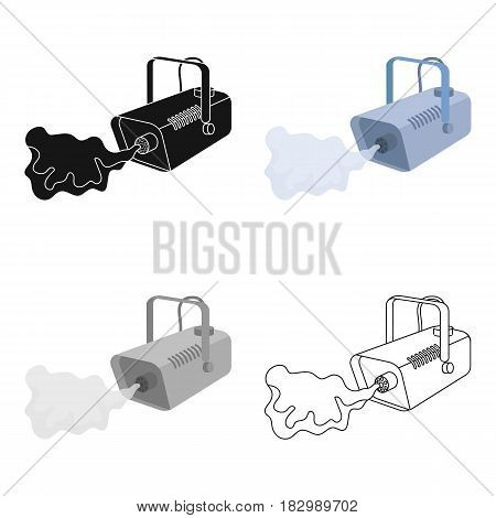 Fog machine icon in cartoon style isolated on white background. Event service symbol vector illustration.