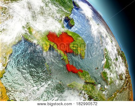 Thailand From Space