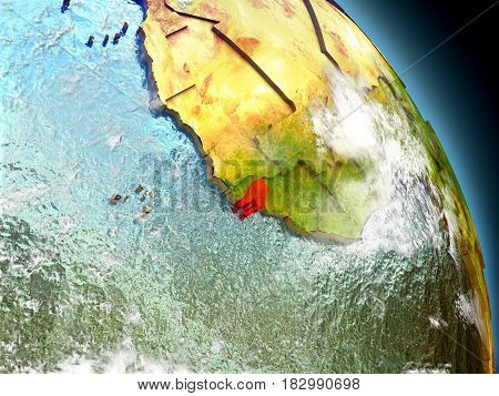 Guinea-bissau From Space