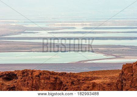 Dead Sea from the bird's eye view