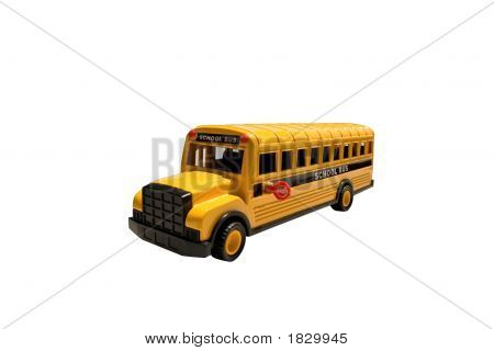 Toy School Bus Side
