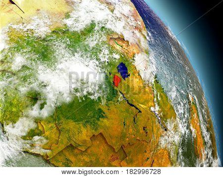 Rwanda From Space