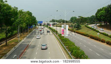 Street In Kuala Lumpur, Malaysia
