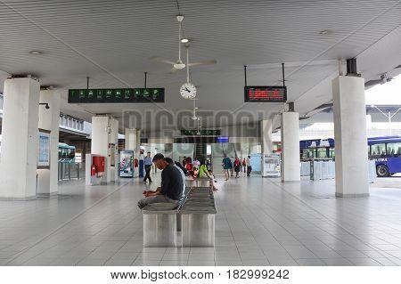 Bus Station In Kuala Lumpur, Malaysia