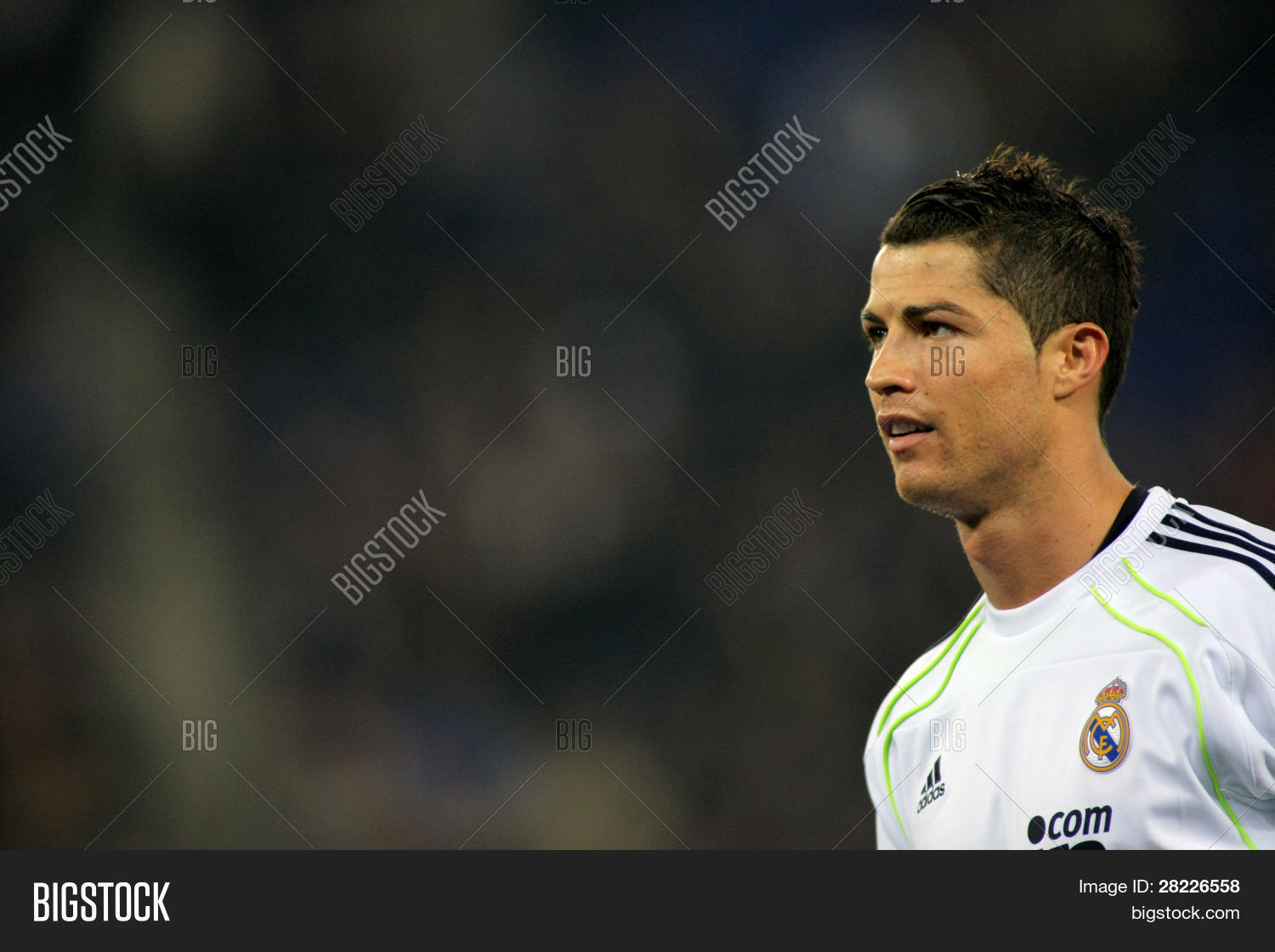 8d5d9cef8 BARCELONA - 13  Cristiano Ronaldo of Real Madrid during a spanish league  match between Espanyol