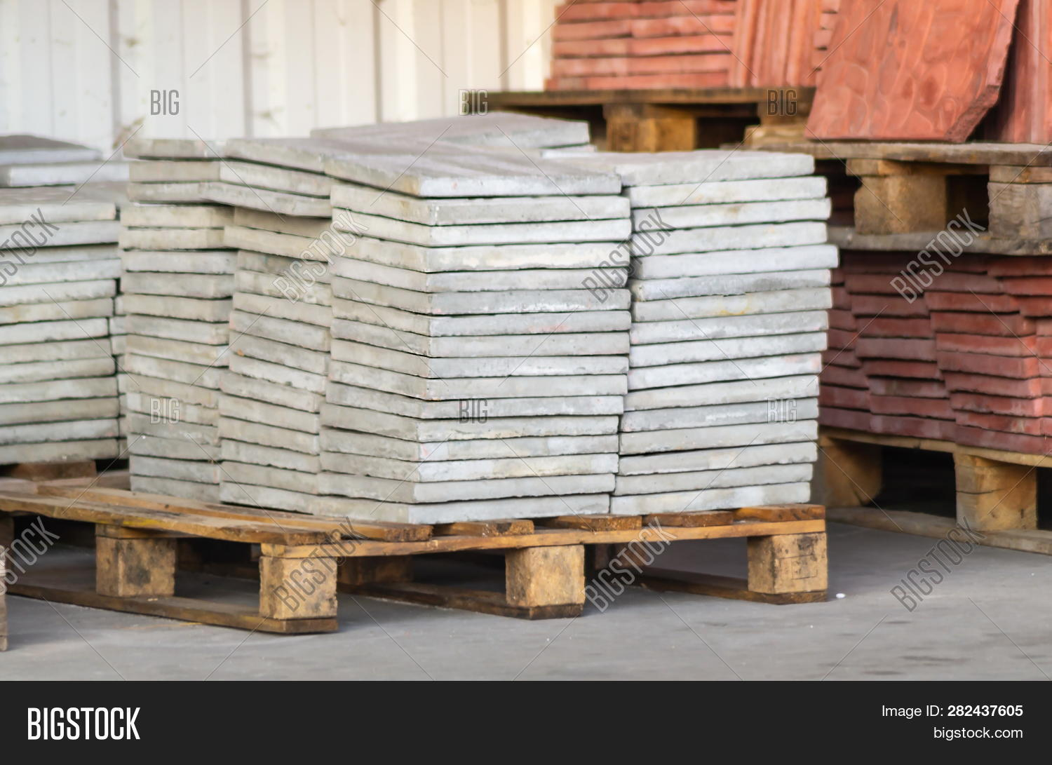 Paving Slabs Factory  Image & Photo (Free Trial) | Bigstock