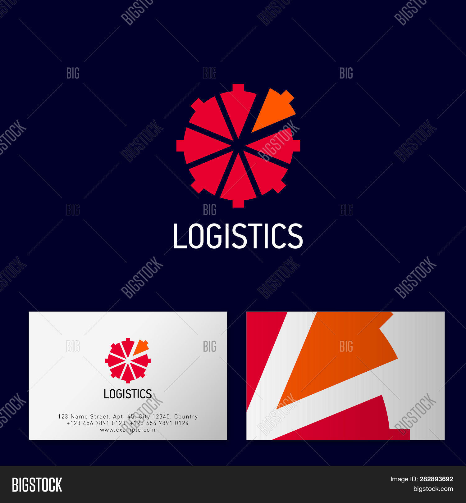 Logistics Logo  Vector & Photo (Free Trial) | Bigstock
