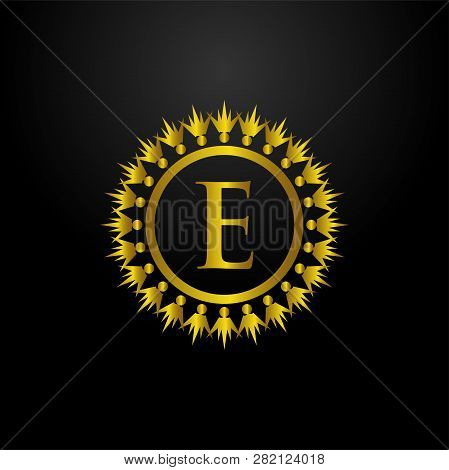 Luxury Logo, Letter E Logo, Classic And Elegant Logo Designs For Industry And Business, Interior Log