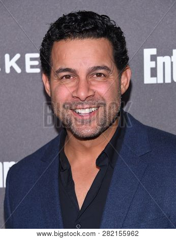 LOS ANGELES - JAN 26:  Jon Huertas arrives to Entertainment Weekly honors Nominees for the Screen Actors Guild Awards  on January 26, 2019 in Hollywood, CA