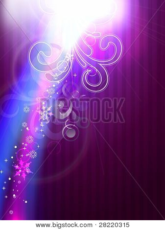 vector shiny glowing colorful background poster