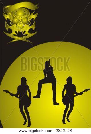 Girls Metal Band