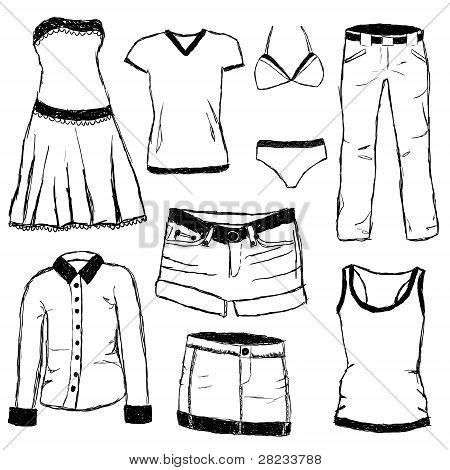 Doodle Clothes