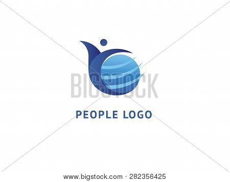 Logo Design Globe Vector Template. Logo Design Earth Vector Template Simple Sign. Creative Agency, S