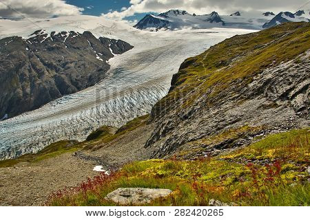 Exit Glacier, The Most Famous Glacier In Alaska