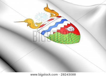 Northwest Territories Coat Of Arms, Canada.