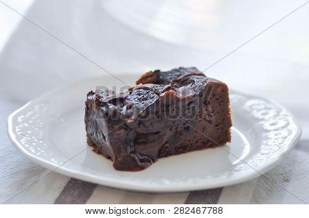 Cake Or A Piece Of Brownie, Caramel Brownie