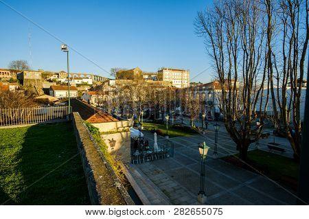 Vila Do Conde, Portugal - January 03, 2019 : Downtown Vila Do Conde, Porto District, Portugal
