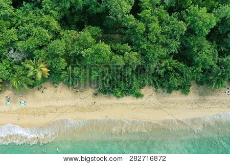French Guadeloupe. Caribbean island. West Indies.
