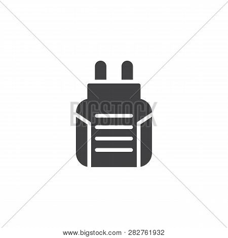 Anti Mosquito Fumigator Vector Icon. Filled Flat Sign For Mobile Concept And Web Design. Insect Elec