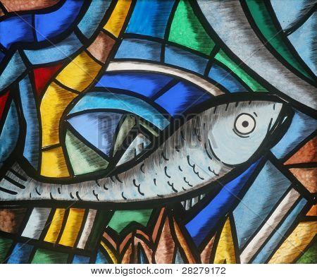 Fish - Icthus, ancient Christian symbol