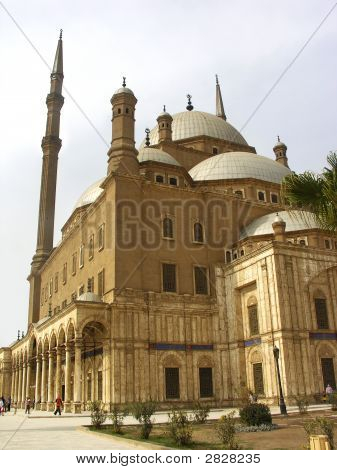 Different views and buildings from Salah El Din Castle in Cairo Egypt poster