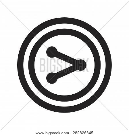 Share Vector Icon On White Background. Share Icon In Modern Design Style. Share Vector Icon Popular