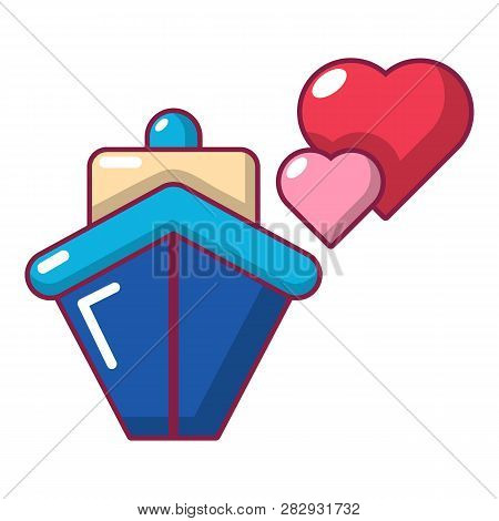 Travel Journey Honeymoon Trip Icon. Cartoon Illustration Of Travel Journey Honeymoon Trip Icon For W