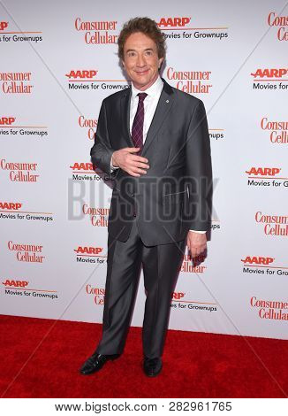 LOS ANGELES - FEB 04:  Martin Short arrives for AARP's Movies For Grownups Awards 2019 on February 4, 2019 in Beverly Hills, CA