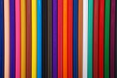 Color pencils. Many color pencils. High quality image. poster