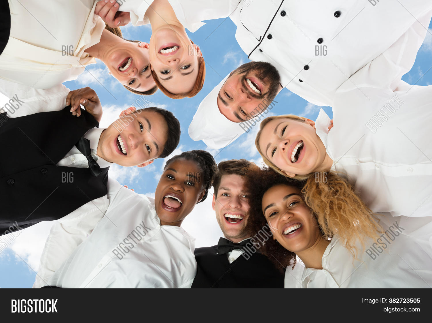 Restaurant Waiter Image Photo Free Trial Bigstock