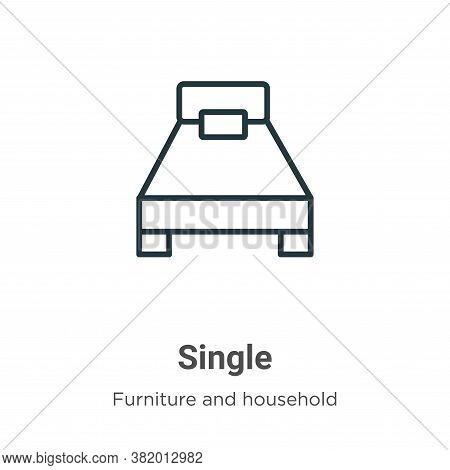 Single icon isolated on white background from furniture and household collection. Single icon trendy