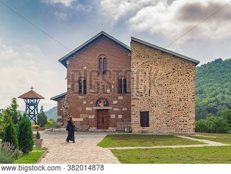 Banjska Monastery, Serbian Orthodox Church Monastery In Serbian Autonomous Province Of Kosovo And Me
