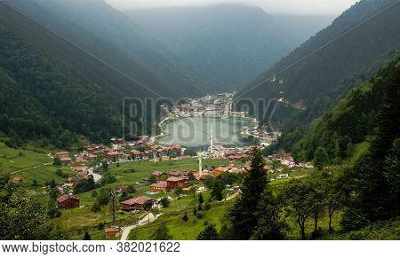 Lake In East Blacksea Region Uzungol Trabzon