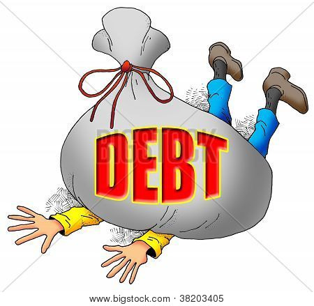 Too Much Debt.