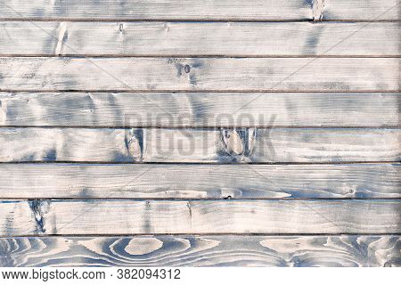 Natural Oak Wood Background. Old Floor Wooden Pattern. Timber Plank Surface Wall For Vintage Grunge