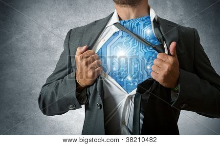 Technology Super Hero