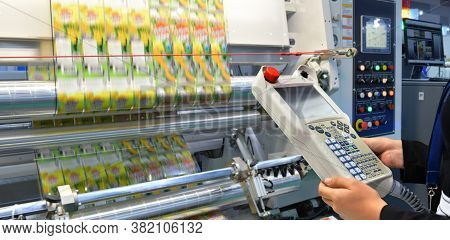 Engineer Check And Control Automation Packing Machine Unit Of High Technology Food Packing Machine F