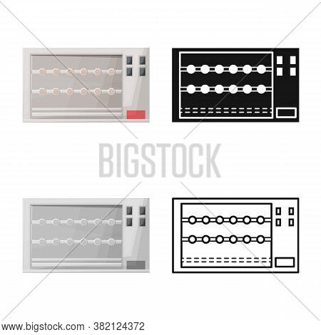 Vector Illustration Of Oven And Appliance Symbol. Web Element Of Oven And Stove Stock Vector Illustr