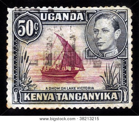 Sailing Ship On A Lake Victoria