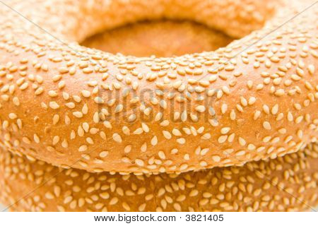 Bagels With Sesam