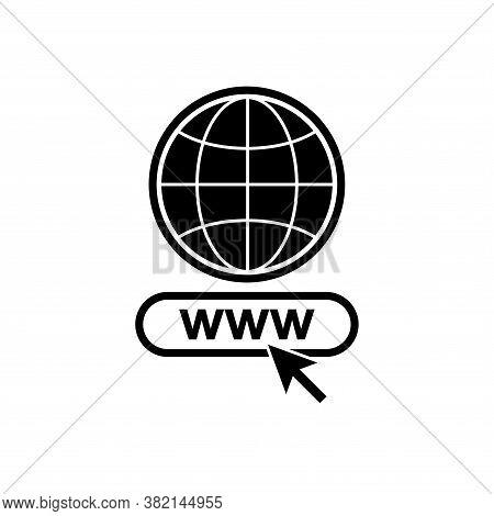 Globe Icon Isolated On White Background, Globe Icon Eps10, Globe Icon Vector, Globe Icon Eps, Globe