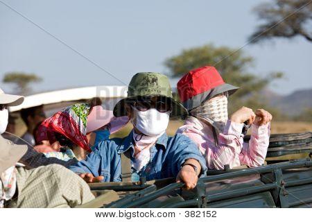 People 42 On Safari