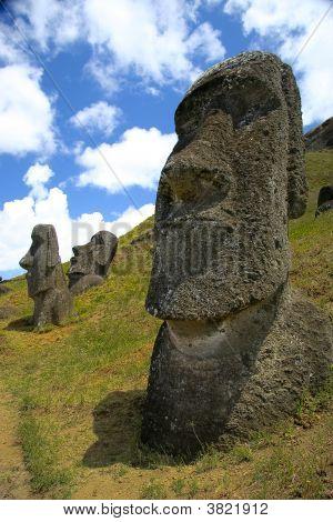 Ranu Kau Volcano, Rapa Nui - Easter Island, Chile