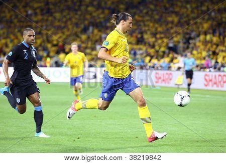Uefa Euro 2012 Game Sweden Vs England