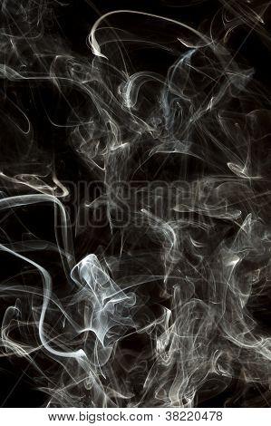 Whispy White Smoke
