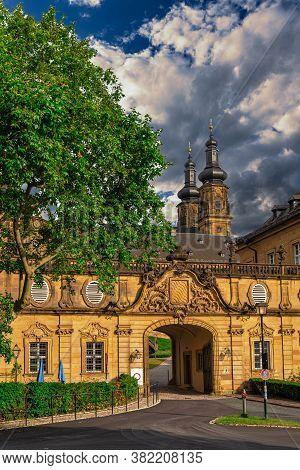 Kloster Banz The Benedictine Monastery Near Bad Staffelstein, Germany