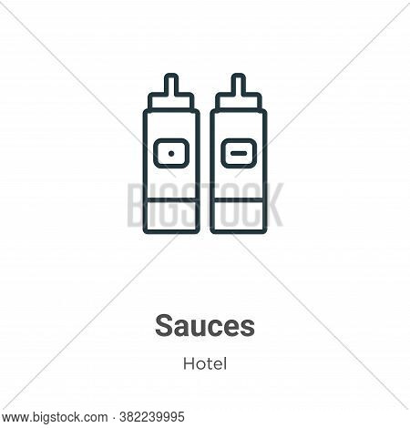 Sauces icon isolated on white background from restaurant collection. Sauces icon trendy and modern S