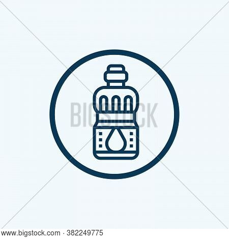 Olive Oil Icon Isolated On White Background From Vegan Food Collection. Olive Oil Icon Trendy And Mo