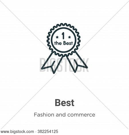 Best icon isolated on white background from fashion and commerce collection. Best icon trendy and mo